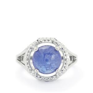 5.58ct Tanzanite Sterling Silver Ring