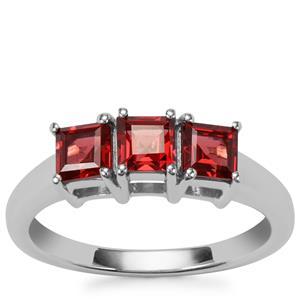 Octavian Garnet Ring in Sterling Silver 1.43cts