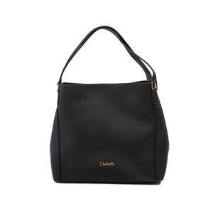 Destello Amy Handbag (Vegan Leather Colour BLACK)