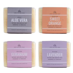 Palm Oil Free Solid Soap with Essential Oils - Choice of Scent