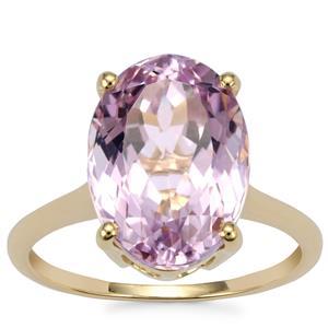 Kolum Kunzite Ring in 18K Gold 6.90cts