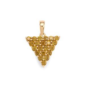 Apache Demantoid Garnet Necklace in 18K Gold 0.97ct