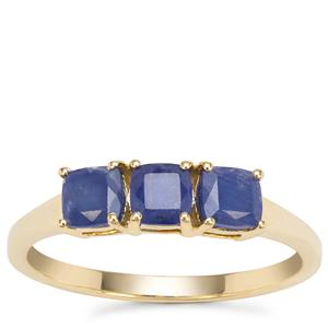 Burmese Blue Sapphire Ring in 9K Gold 1.35cts