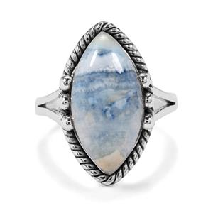 9ct Blue Dolomite Sterling Silver Aryonna Ring