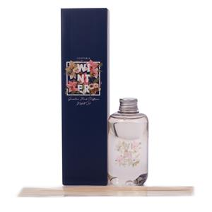 Winter Reed Diffuser Refill, Winter Fragrance with Snowflake Obsidian, Blue Lace Agate, and Snow Quartz ATGW 30cts