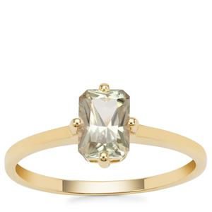 Csarite® Ring in 9K Gold 1.06cts