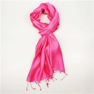 Destello Padparadscha Pink Coloured Scarf