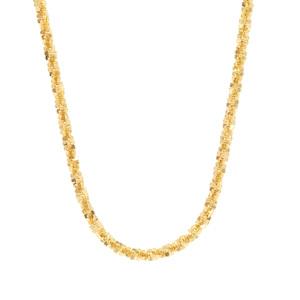 """22"""" Midas Couture Diamond Cut Criss Cross Chain 3.19g"""