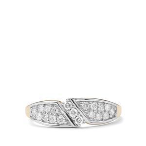 1/3ct Argyle Diamond 10K Gold Tomas Rae Ring