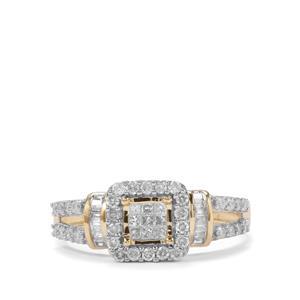 Diamond Ring in 10K Gold 0.50ct