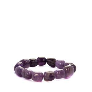 Zambian Amethyst Stretchable Bracelet 276.50cts