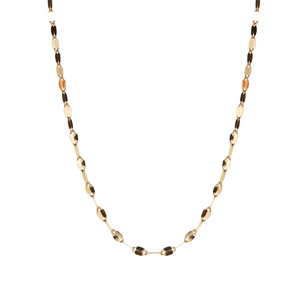 "18"" 9K Gold Couture Sparkle Forzatina Chain 0.90g"