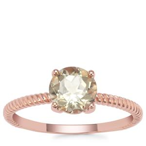 Csarite® Ring in 9K Rose Gold 1.46cts