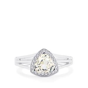 1.48ct Ice Kunzite Sterling Silver Ring