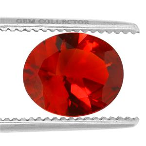 Tarocco Red Andesine GC loose stone  4.1cts