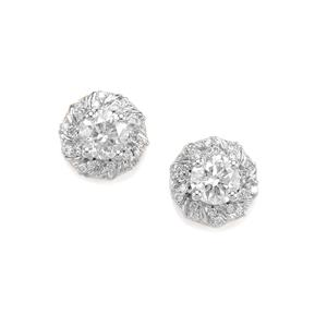 1.05ct Diamond 18K Gold Tomas Rae Earrings