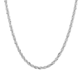 "30"" Sterling Silver Rock Chain 5.30g"