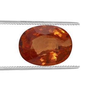 Tangerine Garnet Loose stone  3.09cts