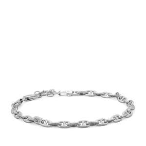 """7"""" Sterling Silver Altro Mariner Bracelet 5.27g"""