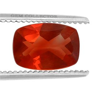 Red Andesine GC loose stone  4.15cts