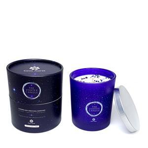 Gem Auras Vortex Candle - Rose Fragrance Amethyst, Lapis Lazuli & Clear Quartz ATGW 30cts
