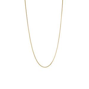 "20"" 9ct Gold Tempo Mini Round Snake Chain 2g"