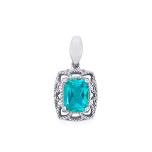 2.43ct Batalha Topaz Sterling Silver Pendant