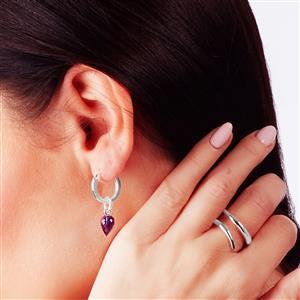 Molte Mini Hoop Earrings in Sterling Silver