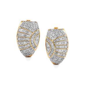 1ct Diamond Midas Earrings