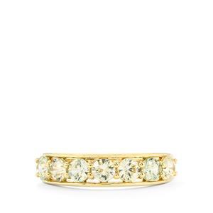 1.75ct Ceylon Zircon 9K Gold Ring