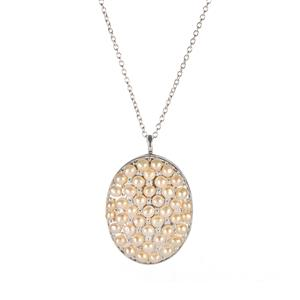 Kaori Freshwater Cultured Pearl Sterling Silver Cable Chain Necklace
