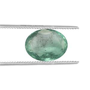 Zambezia Emerald Loose stone  1.37cts