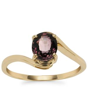 Burmese Multi-Colour Spinel Ring in 9K Gold 1.38cts