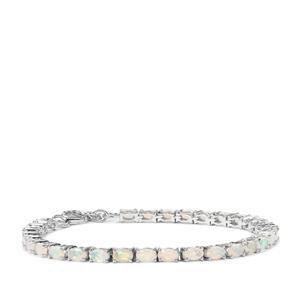 Ethiopian Opal Bracelet in Sterling Silver 4.24cts