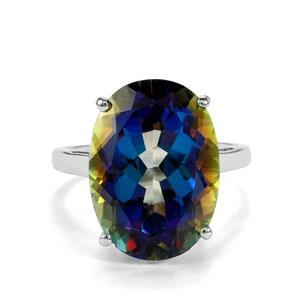 Mystic Topaz Ring in Sterling Silver 15.52cts