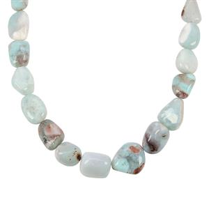 Aquaprase™ Necklace  in Sterling Silver 190cts
