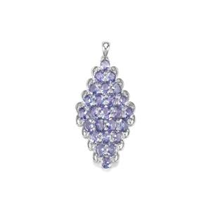 Tanzanite Pendant in Sterling Silver 7.55cts