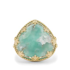 Aquaprase™ Ring  in 9K Gold 15.09cts