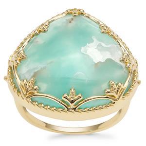 15.09ct Aquaprase™ 9K Gold Ring
