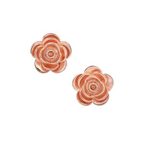 Earrings in Rose Gold Plated Sterling Silver