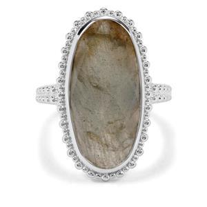 9.51ct Labradorite Sterling Silver Ring