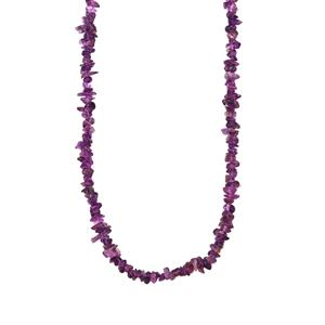 Zambian Amethyst Nugget Bead Necklace 440cts