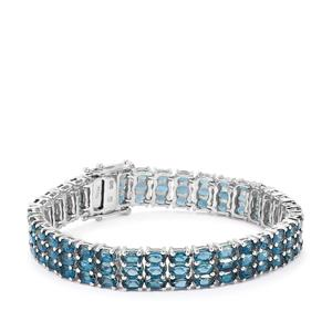 Marambaia London Blue Topaz Bracelet in Sterling Silver 27.13cts