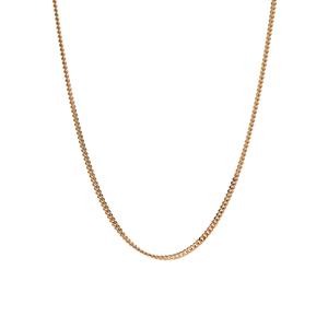 """18"""" 9K Gold Classico Diamond Cut Curb Chain 2.16g"""