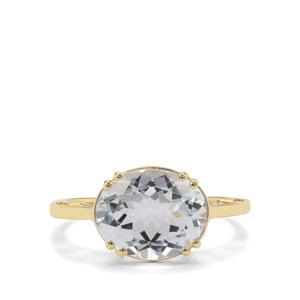 2.92ct Aquamarine 9K Gold Ring