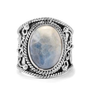 8ct Blue Dolomite Sterling Silver Aryonna Ring