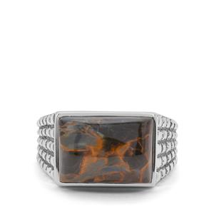 Arizona Pietersite Ring in Sterling Silver 7.70cts