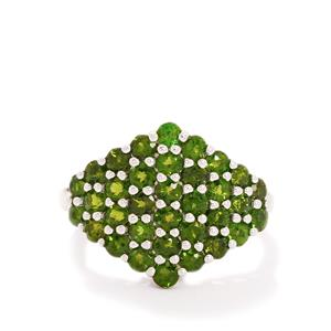 2.71ct Chrome Diopside Sterling Silver Ring
