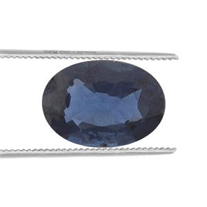 Australian Blue Sapphire Loose stone  0.6ct