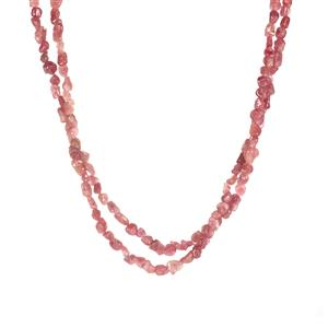 Pink Tourmaline Necklace in Sterling Silver 170cts